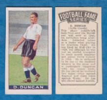 Derby County Dally Duncan Scotland